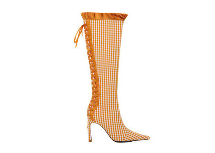 YELLO Carrot Long Boots Orangeの写真