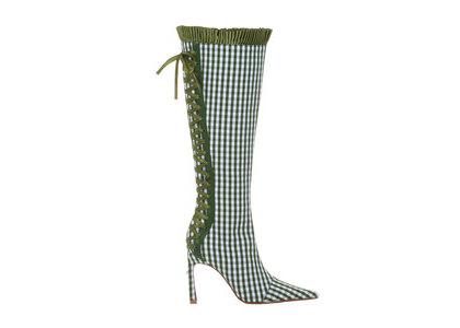 YELLO Fabiola Long Boots Greenの写真