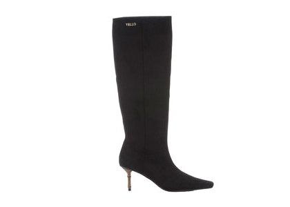 YELLO Baisen Mid Length Boots Blackの写真
