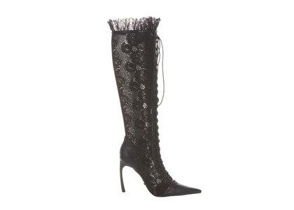 YELLO Nora Long Boots Blackの写真