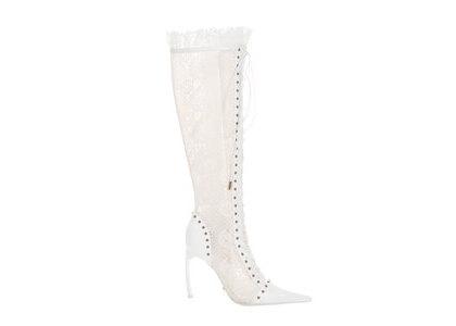 YELLO Like A Virgin Long Boots Whiteの写真