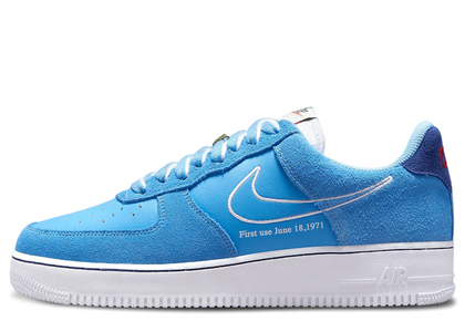 Nike Air Force 1 07 Low First Use Blueの写真