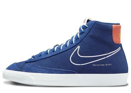 Nike Blazer Mid '77 First Use Royal Blueの写真