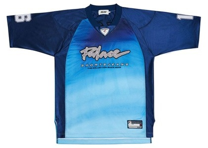 Palace Airtex Roundhouse To The Face T-Shirt Sky (SS20)の写真