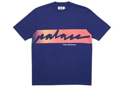 Palace Catch Das Fade T-Shirt Navy (SS20)の写真