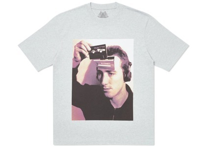 Palace Deckhead T-Shirt Grey Marl (SS20)の写真