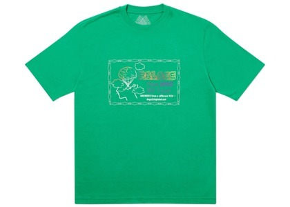 Palace Don't Call Me I'll Call You T-Shirt Green (SS20)の写真