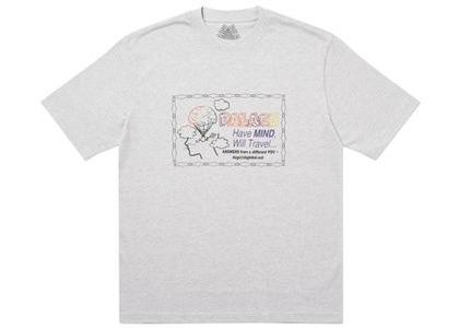 Palace Don't Call Me I'll Call You T-Shirt Grey Marl (SS20)の写真