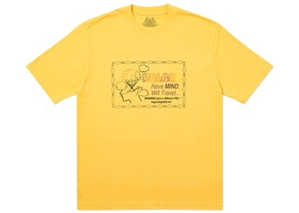 Palace Don't Call Me I'll Call You T-Shirt Yellow (SS20)の写真