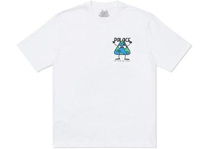 Palace Globlerone T-Shirt White (SS20)の写真