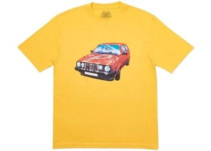 Palace GT Alight T-Shirt Yellow (SS20)の写真