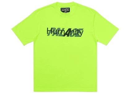 Palace Humanity T-Shirt Fluro Yellow (SS20)の写真