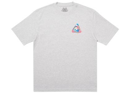 Palace I Don't Skate on a Sunday T-Shirt Grey Marl (SS20)の写真