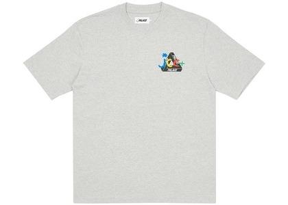 Palace JCDC2 T-Shirt Grey Marl (SS20)の写真