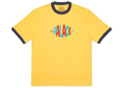 Palace Lozenge T-Shirt Yellow (SS20)の写真