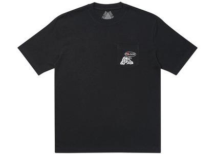 Palace Peace Pocket T-Shirt Black (SS20)の写真