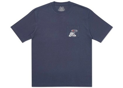 Palace Peace Pocket T-Shirt Navy (SS20)の写真