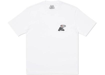 Palace Peace Pocket T-Shirt White (SS20)の写真