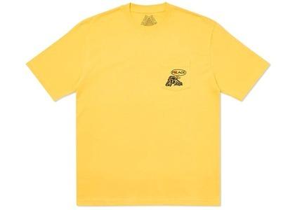 Palace Peace Pocket T-Shirt Yellow (SS20)の写真