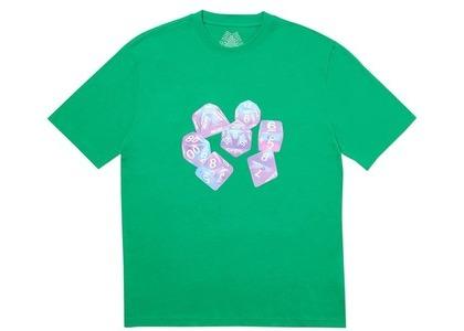 Palace Roll Das Dice Pay Das Price T-Shirt Green (SS20)の写真