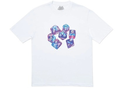 Palace Roll Das Dice Pay Das Price T-Shirt White (SS20)の写真