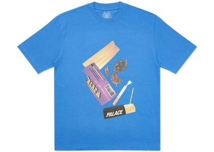 Palace Skin Up Monsieur T-Shirt Blue (SS20)の写真