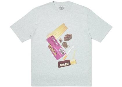 Palace Skin Up Monsieur T-Shirt Grey Marl (SS20)の写真