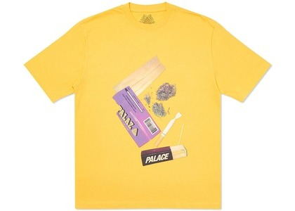 Palace Skin Up Monsieur T-Shirt Yellow (SS20)の写真