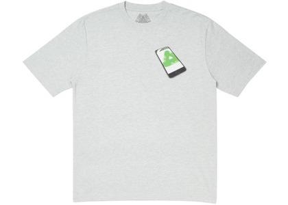 Palace Tri-Phone T-Shirt Grey Marl (SS20)の写真