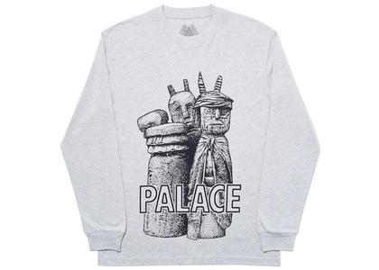 Palace Winz Longsleeve Grey Marl (SS20)の写真