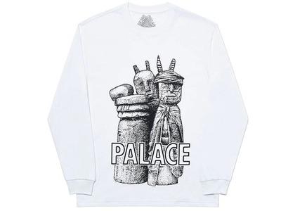 Palace Winz Longsleeve White (SS20)の写真