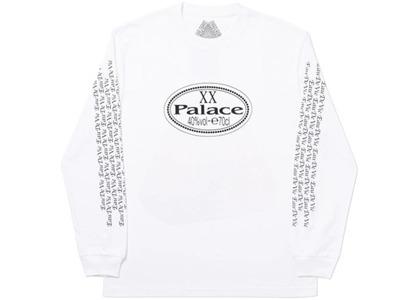 Palace XX Longsleeve White (SS20)の写真