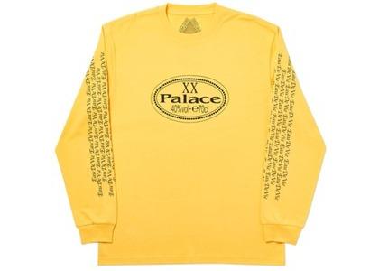 Palace XX Longsleeve Yellow (SS20)の写真