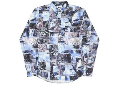 Palace Das Water Falls Shirt Blue (SS20)の写真
