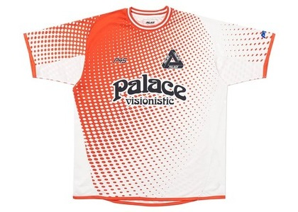 Palace Multi Option Footie Jersey White/Red (SS20)の写真