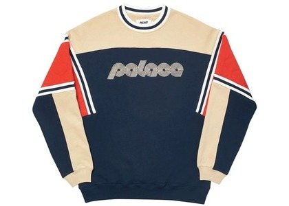 Palace Quilter Crew Navy (SS20)の写真