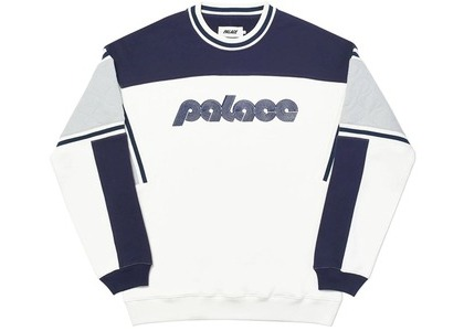 Palace Quilter Crew White (SS20)の写真