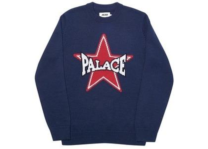 Palace Star Knit Navy (SS20)の写真