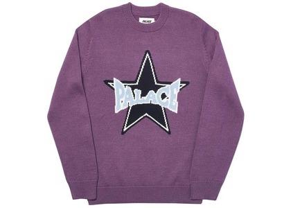 Palace Star Knit Purple (SS20)の写真