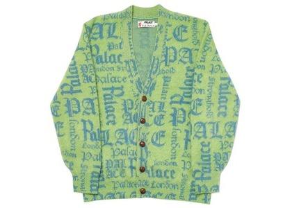 Palace Ye Olde Pringle Knit Green/Blue (SS20)の写真