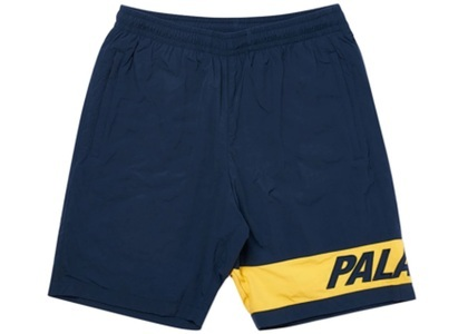 Palace Side short Navy/Yellow  (SS20)の写真