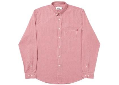 Palace Ging-Ham Shirt Red (SS20)の写真