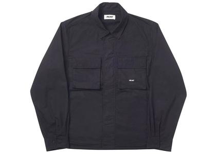 Palace Jungle Zip Shirt Black (SS20)の写真