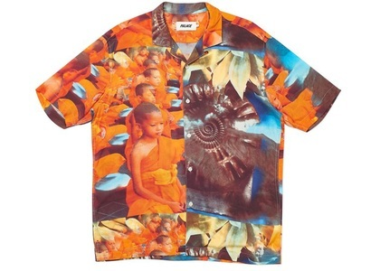 Palace Mantra Shirt Orange (SS20)の写真