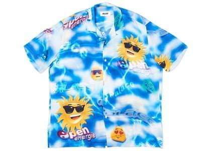 Palace Open Energy Shirt Shirt Blue (SS20)の写真