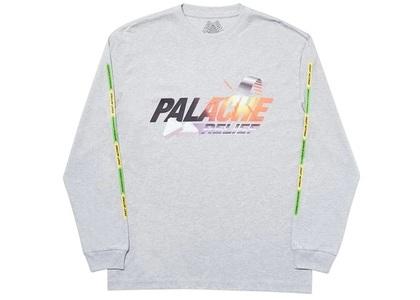 Palace Palache Longsleeve Grey Marl (SS20)の写真