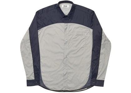 Palace Shell Out Shirt Grey/Navy (SS20)の写真