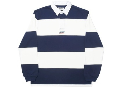 Palace Striped Rugby Navy/White (SS20)の写真