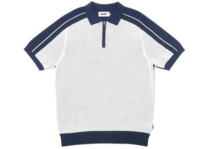 Palace Tex Polo Navy/White (SS20)の写真