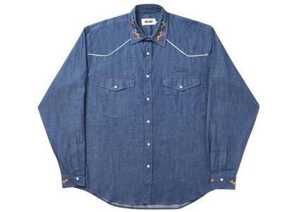 Palace Ye-Ha(M) Shirt indigo (SS20)の写真